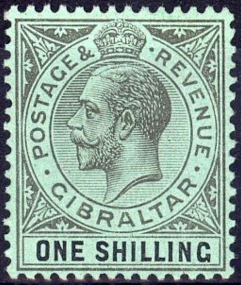 Recent Price Realizations King George V High Value Gibraltar Stamps